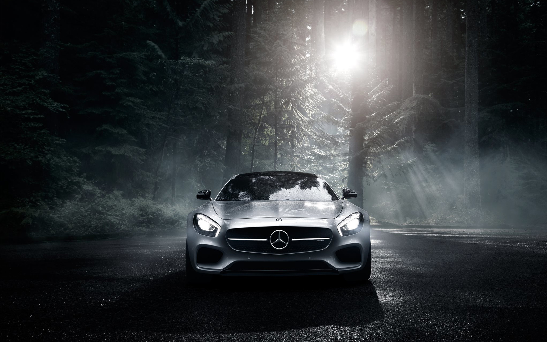 2016 Mercedes Benz AMG GT S Full HD Wallpaper and 1920x1200
