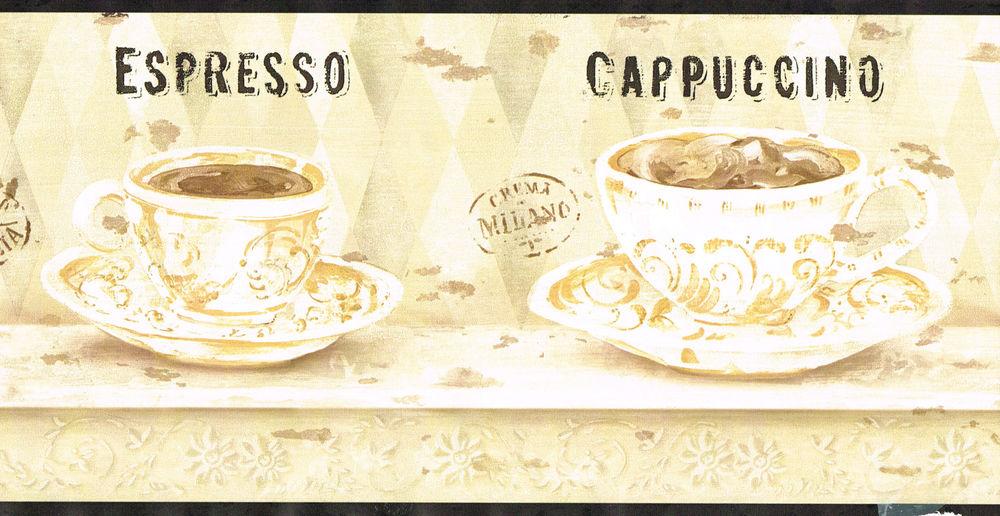 Coffee Cup Wallpaper Borders - WallpaperSafari