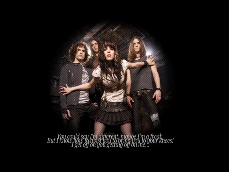 Halestorm Wallpaper by CupcakeThievery 800x600