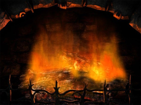 fireplace animated wallpaper desktop wallpapers 264712jpeg 600x448
