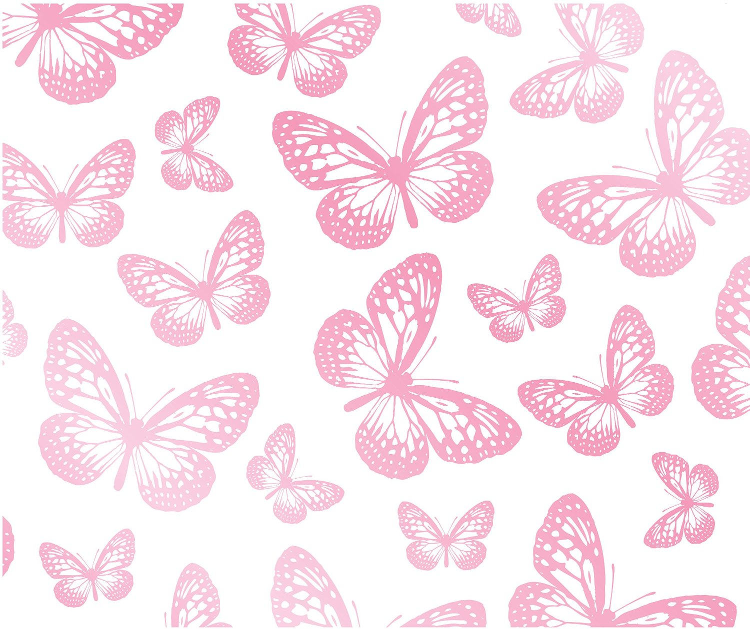 9013 pink butterflies wallpaper 1500x1259