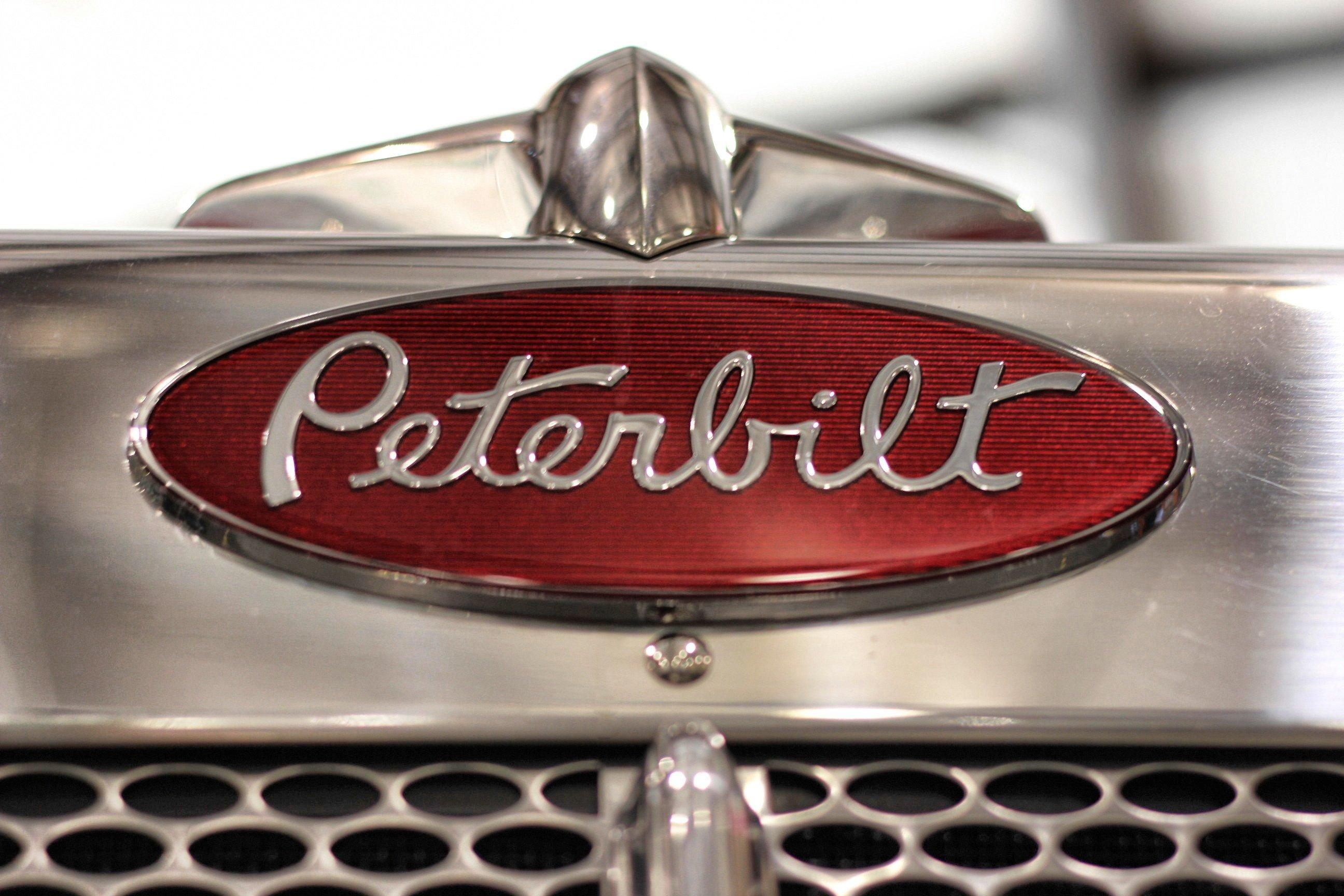 peterbilt logo wallpaper wallpapersafari
