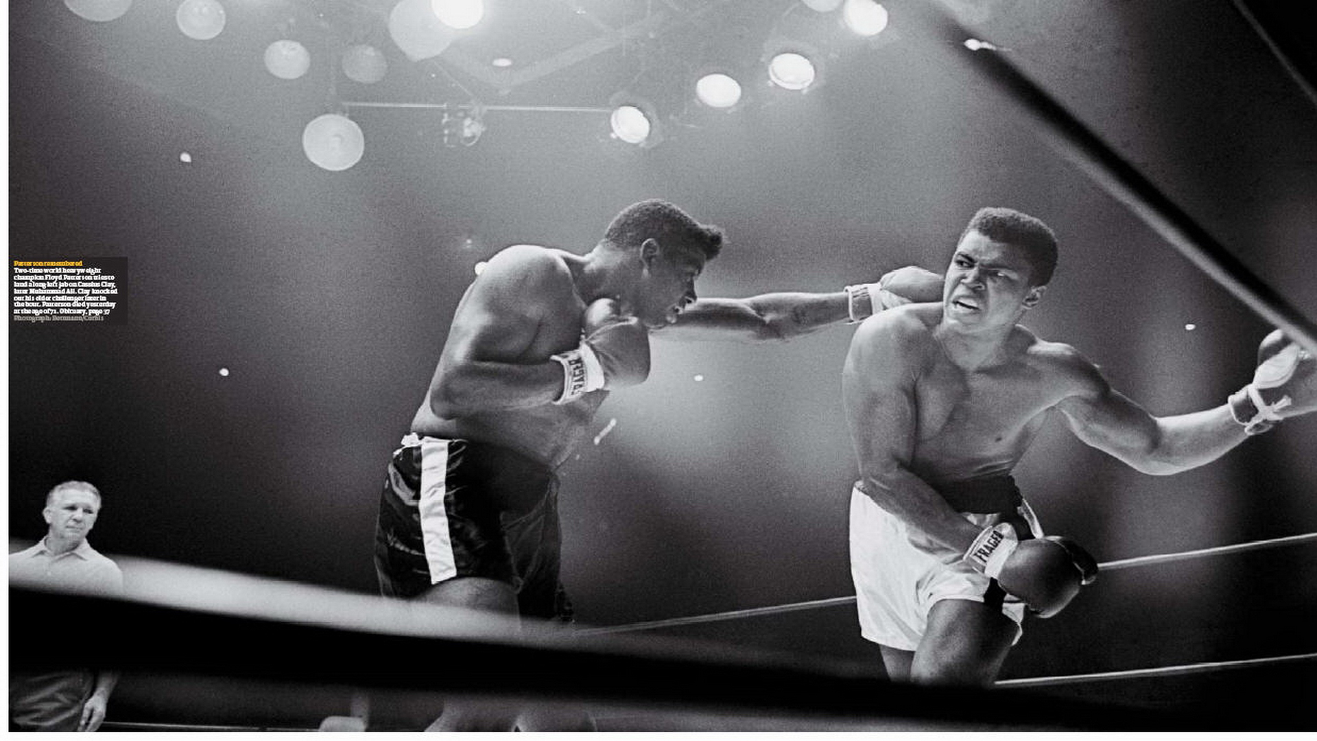 Floyd Patterson Wallpapers Galleries Muhammad Ali Fight Boxes 1920x1080