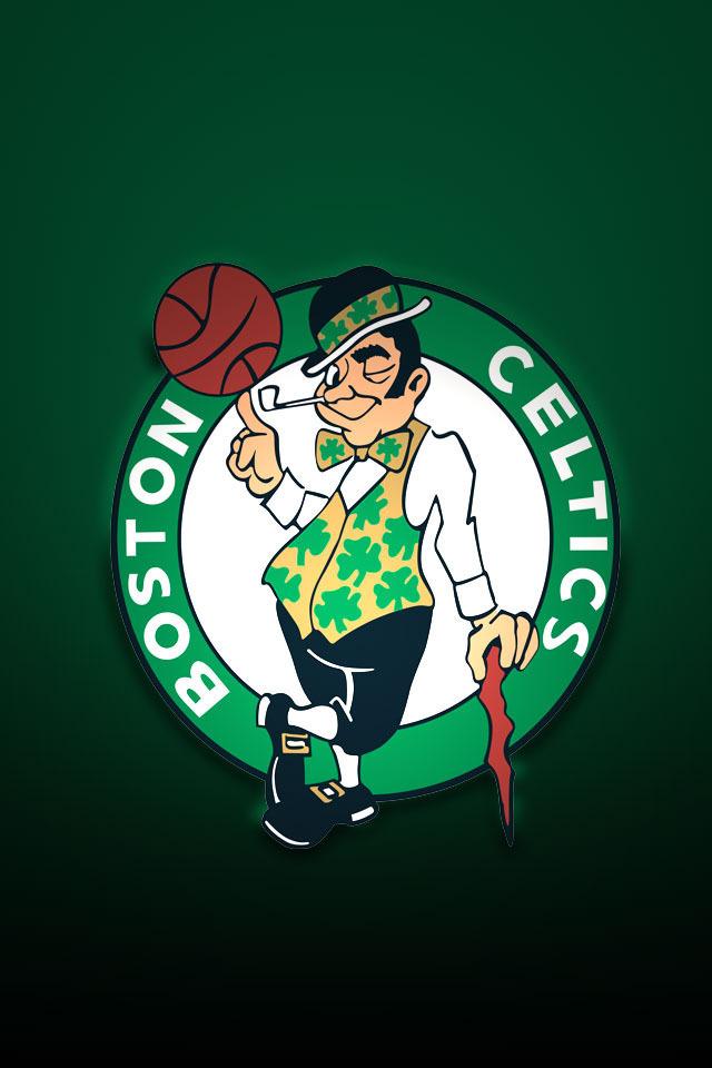 boston celtics logo iphone wallpaper 640x960
