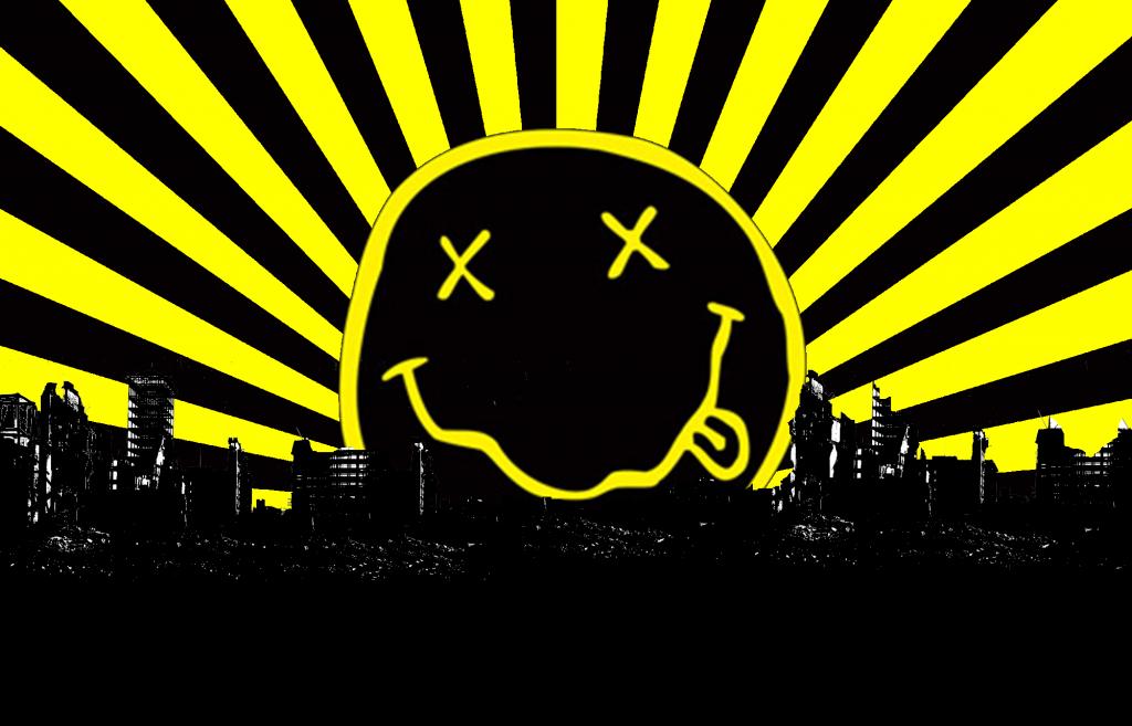 Nirvana Wallpapers Smiley 1024x657