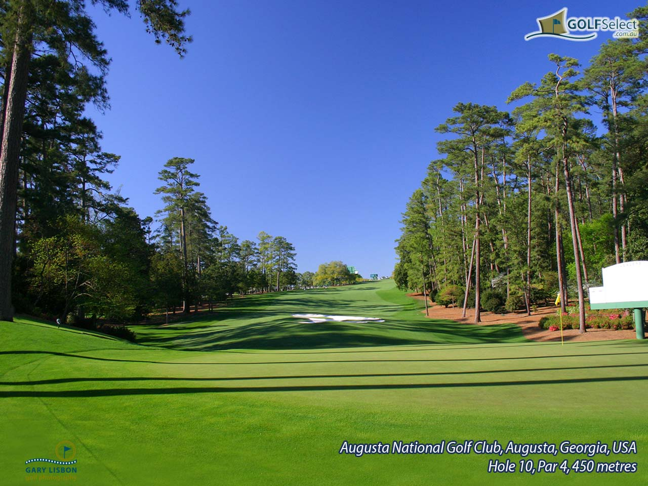 Golf Wallpaper Augusta National Hole 10 Par 4 450 metres 1280x960