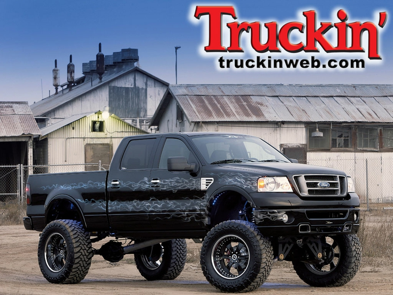 4x4 black F150 Cars Ford HD Desktop Wallpaper 800x600