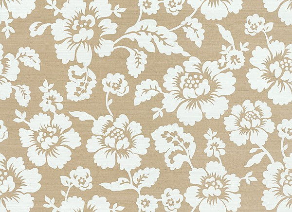 Grasscloth Wallpaper Never Goes Out of Style 600x436