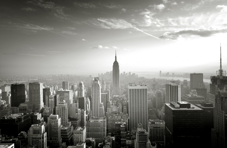 Empire State Skyline Wallpaper Wall Mural MuralsWallpapercouk 764x500