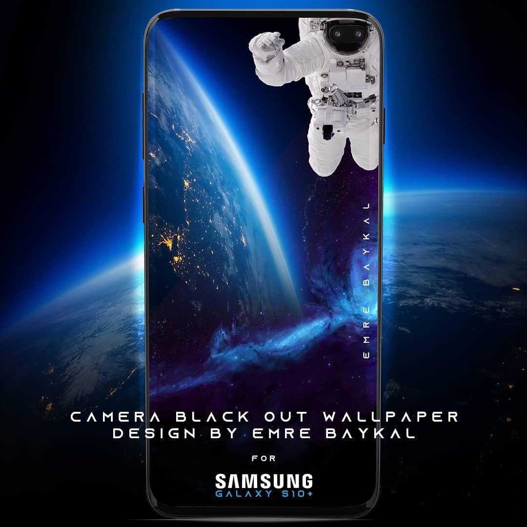 CAMERA BLACK OUT static WALLPAPER FOR SAMSUNG S10 PLUS 1080x1080