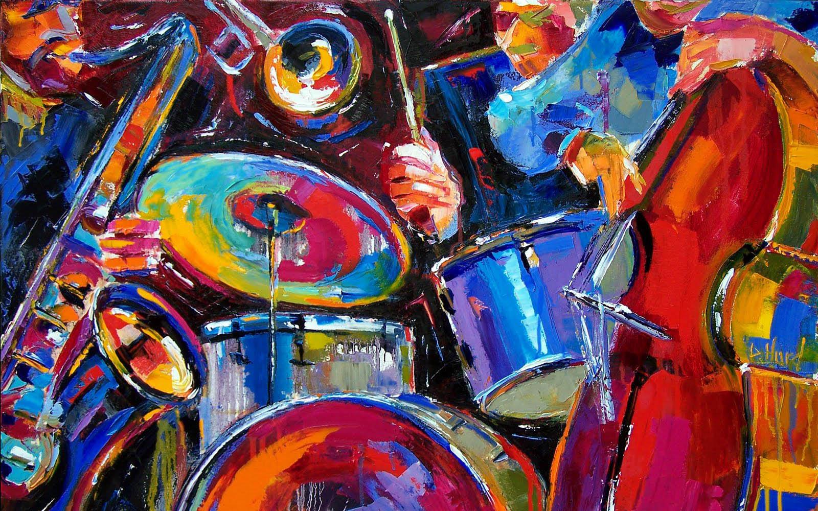 3d Jazz Music Wallpapers