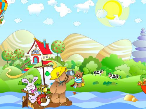 Kids Wallpaper and Screensaver 500x375