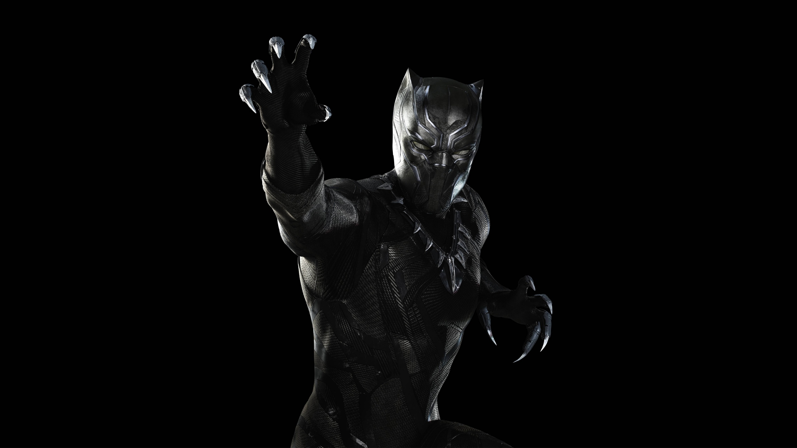 Black Panther Captain America Civil War Wallpapers HD Wallpapers 2560x1440
