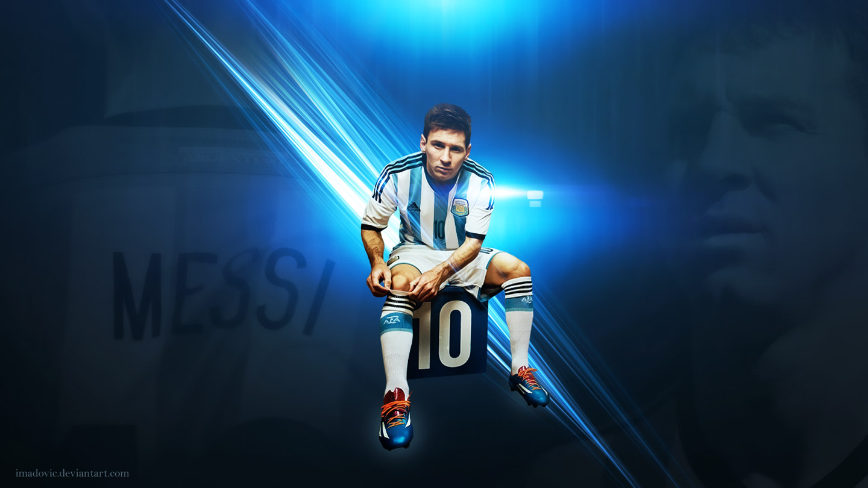 Lionel Messi fond cran wallpaper Sportune 1440x810