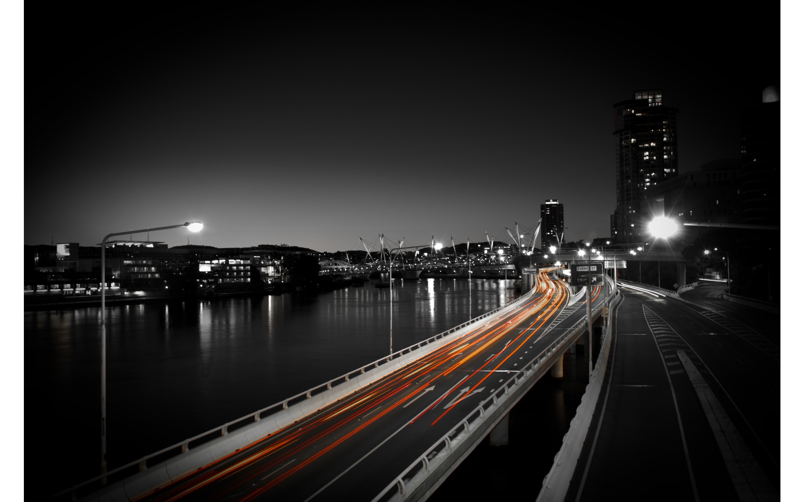City Dark Night And Light Road 2560 x 1600 Download Close 2560x1600