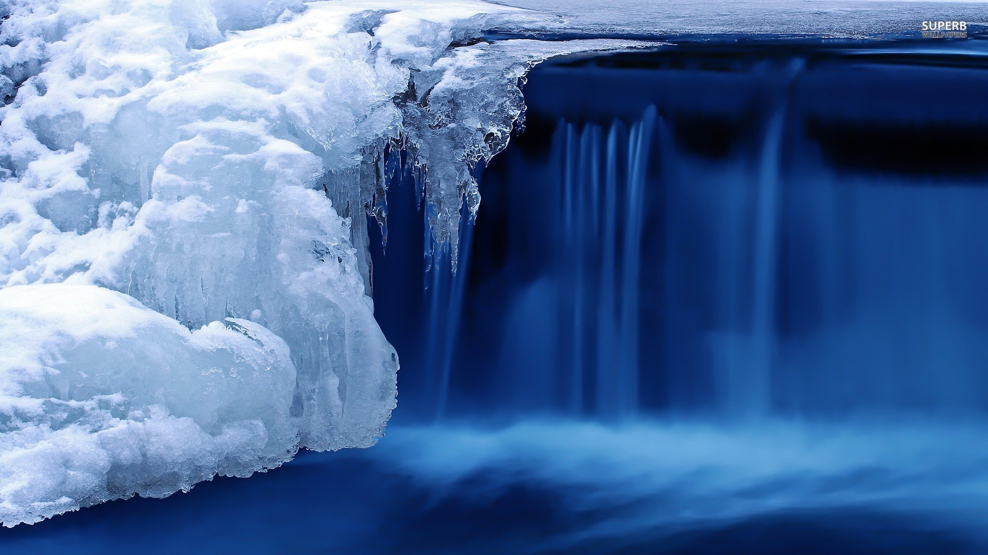 Ice Waterfall Timelapse winter wallpaper 1920x1080 136901 1920x1080