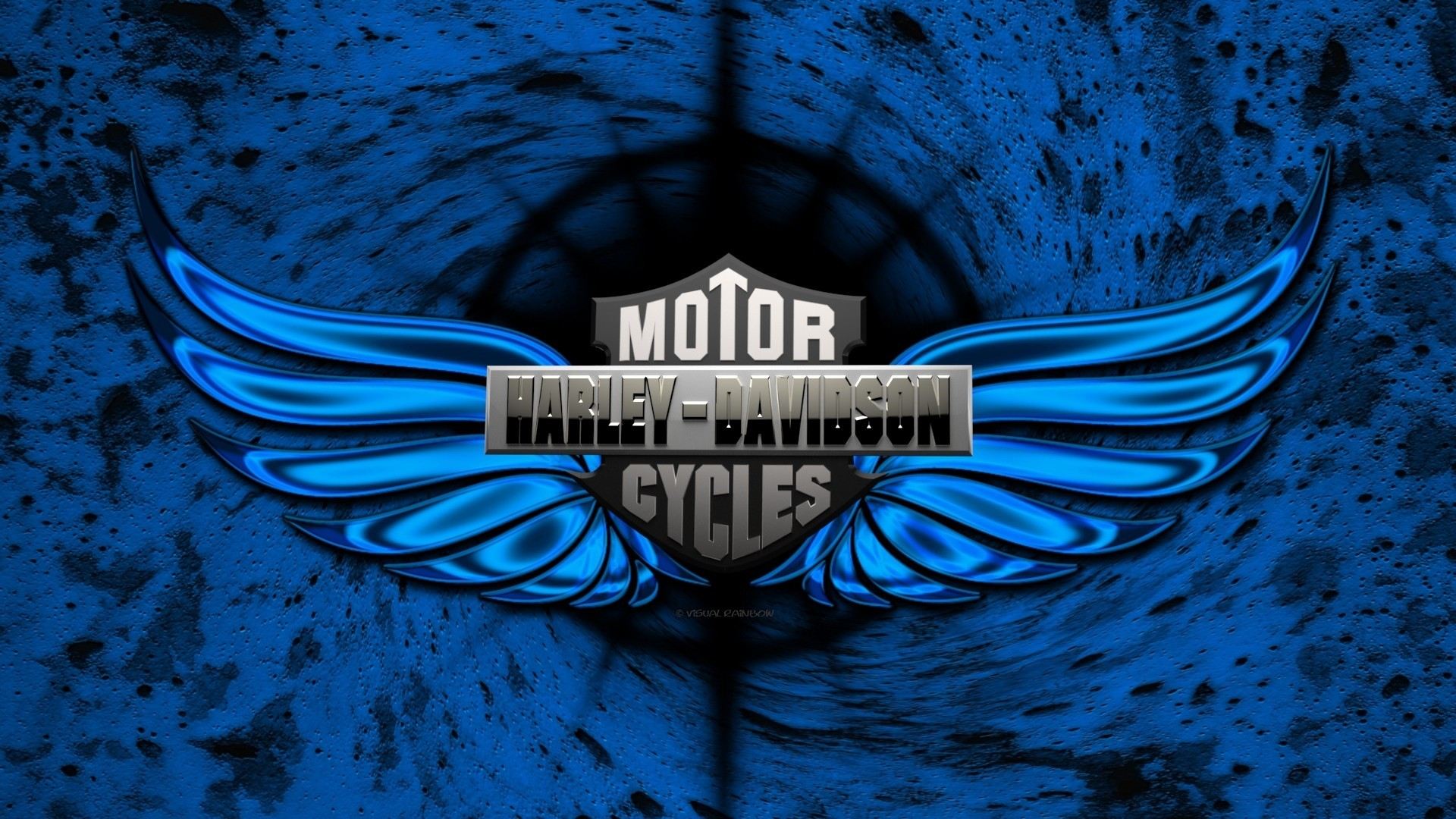 Miller Harley Davidson Blue Wallpapers For Iphone HQ Backgrounds 1920x1080