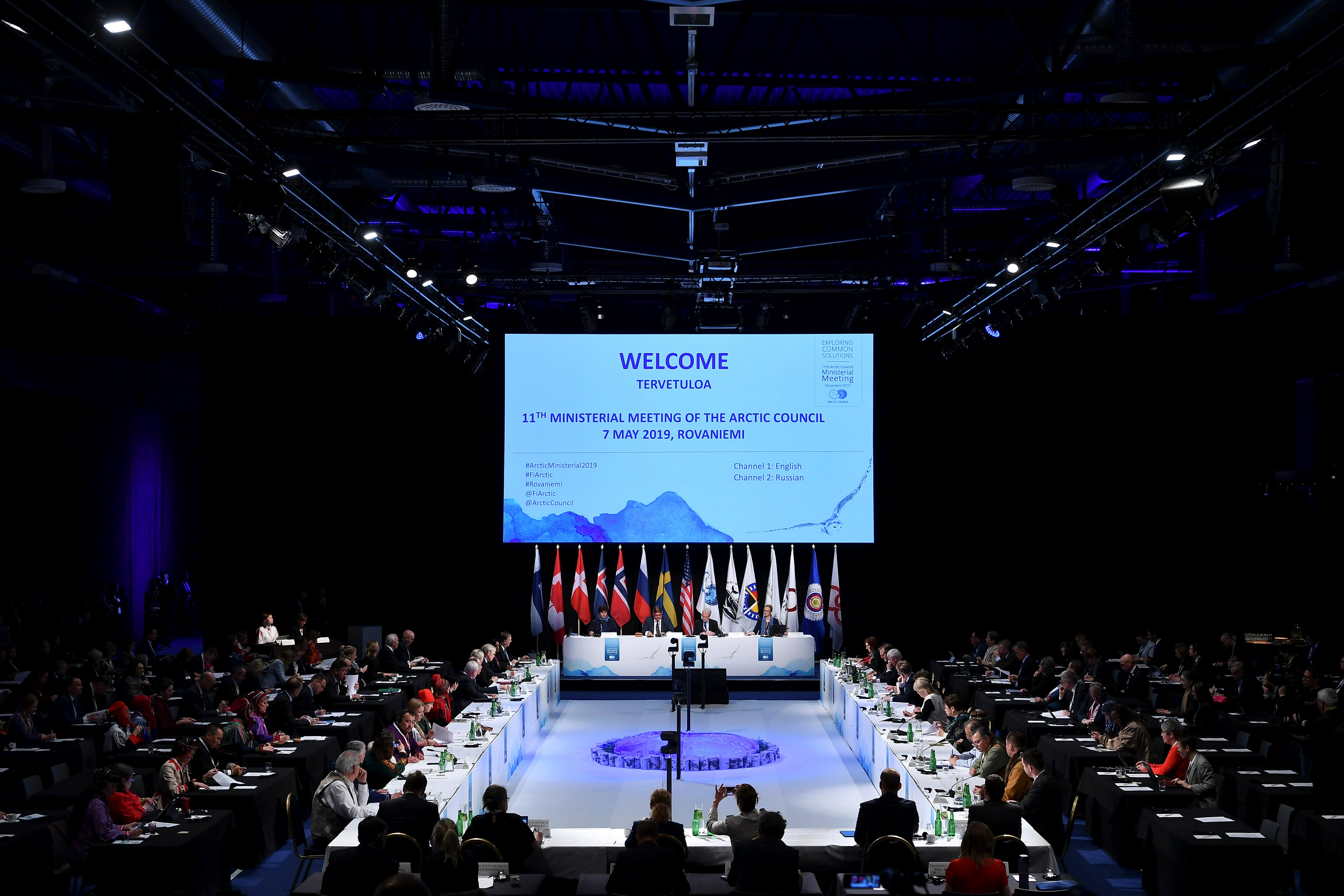 For the first time ever an Arctic Council ministerial meeting has 5568x3712