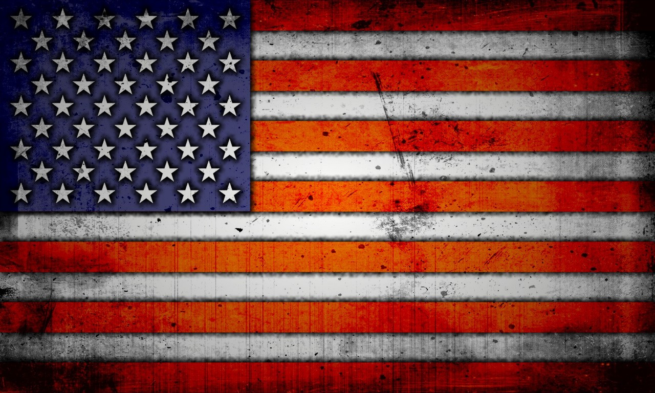 American Flag Wallpaper Grunge   HD Wallpapers 1280x768