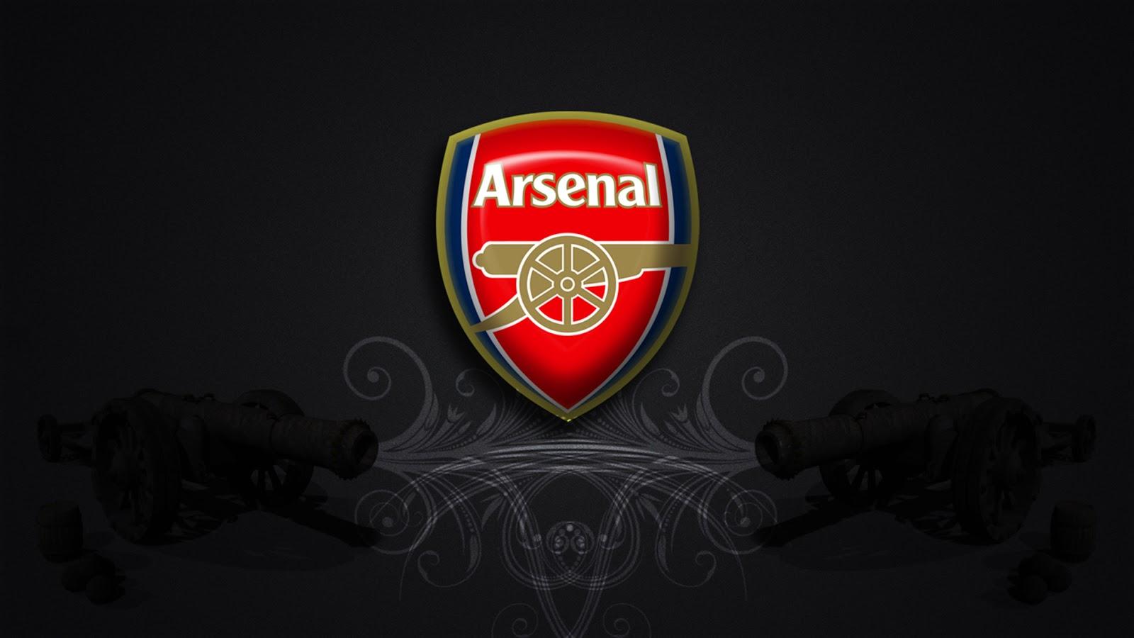 Arsenal FC Logos HD Wallpaper 1600x900