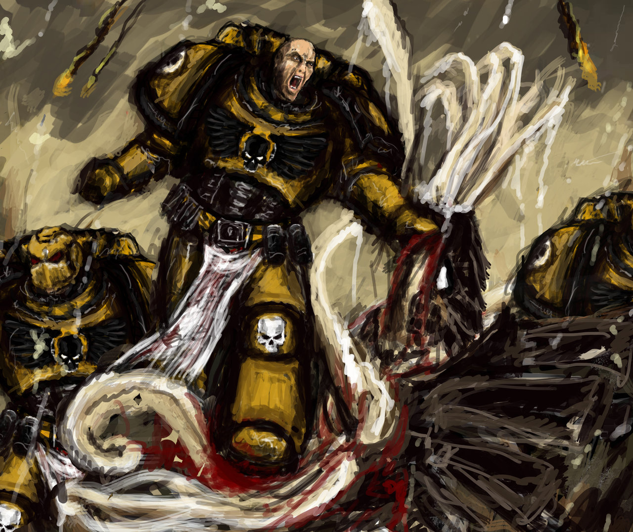 Imperial Fists m1 by Mishai 1280x1076