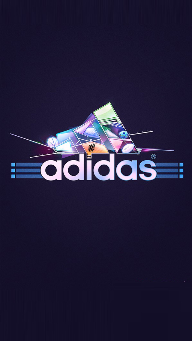 Adidas Logo 4 iPhone 5 wallpapers Background and Wallpapers 640x1136
