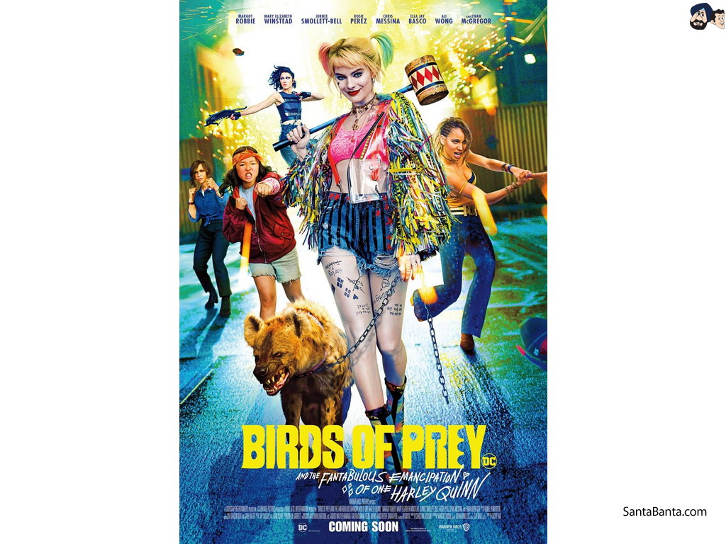 Birds of Prey Movie Wallpaper 14 1024x768