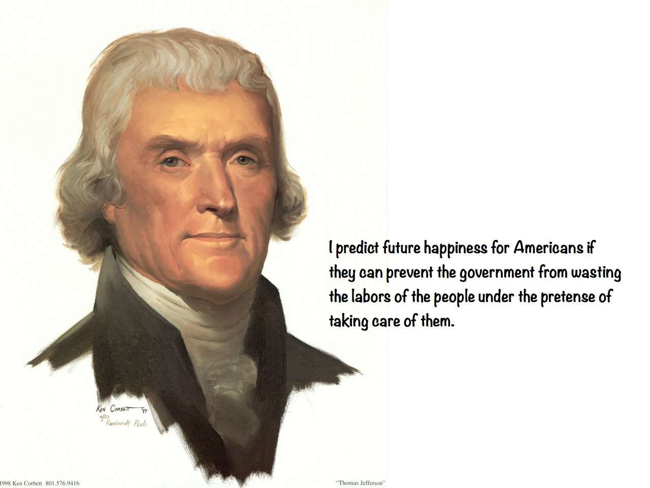 an analysis of the government of thomas jefferson in the united states