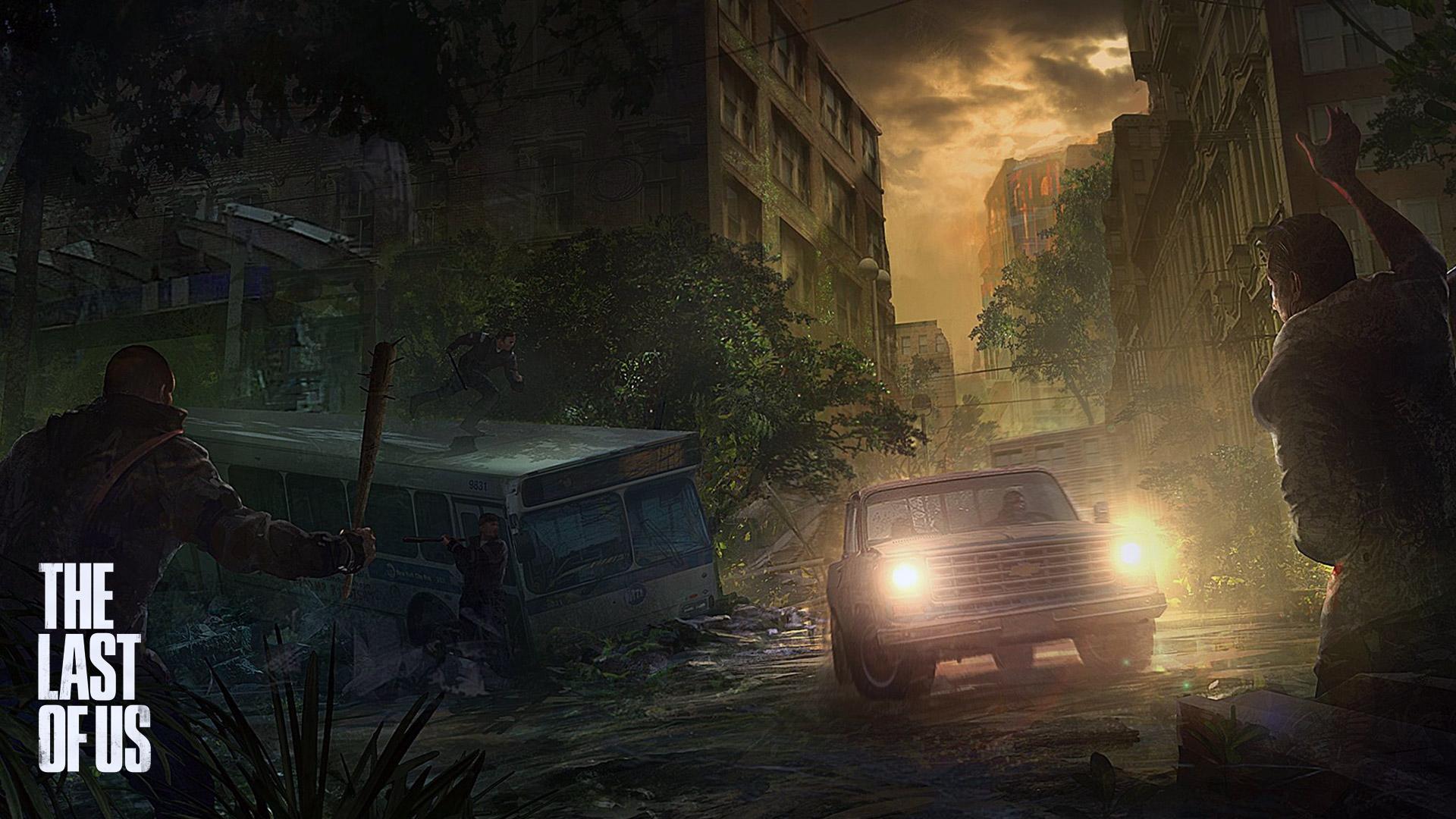 Free Download The Last Of Us Art Ambush Hd Wallpaper 1920x1080