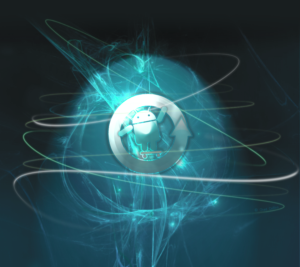 Thread cyanogen themed wallpaper 960x854