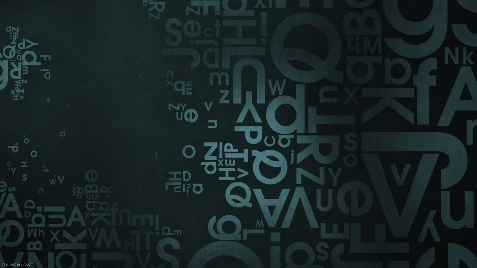 Letters Vector abstract wallpapers vector wallpaper vectors 1600x900 1600x900