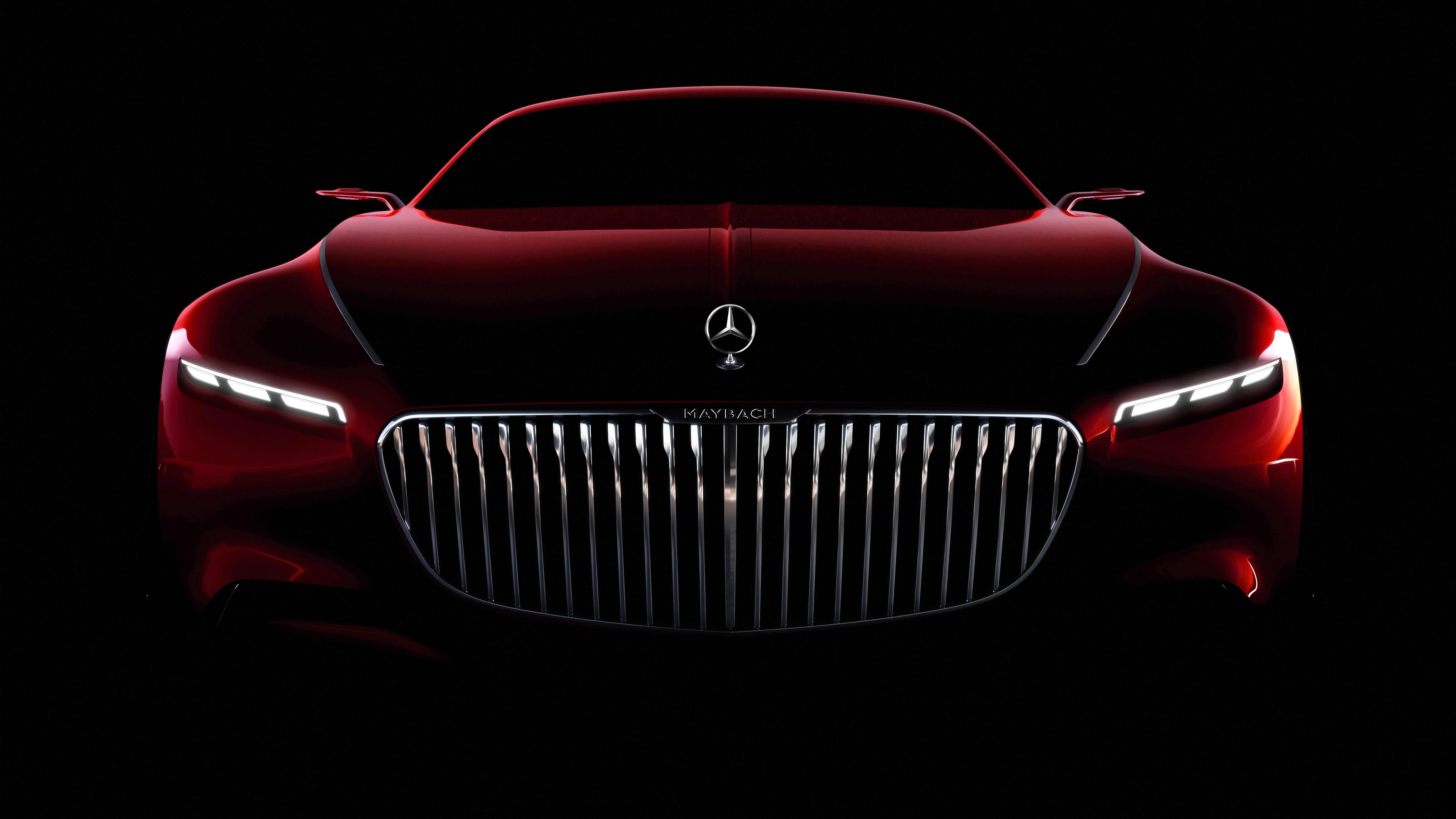 Vision Mercedes Maybach 6 Coupe 5K Wallpaper HD Car 5120x2880