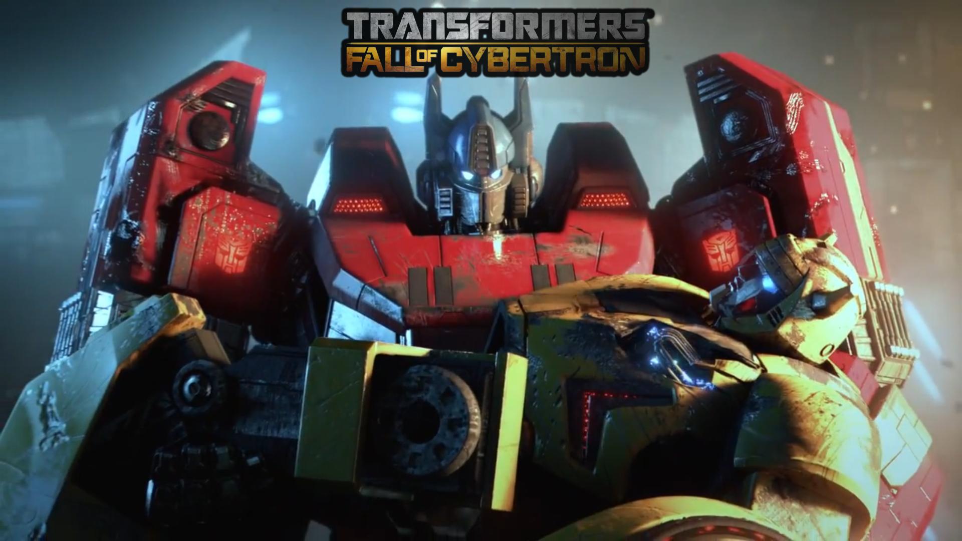 Transformers Fall Of Cybertron Logo wallpaper   1340707 1920x1080