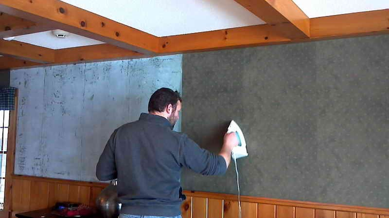 How To Remove Wallpaper Glue That Has Been Painted 800x450