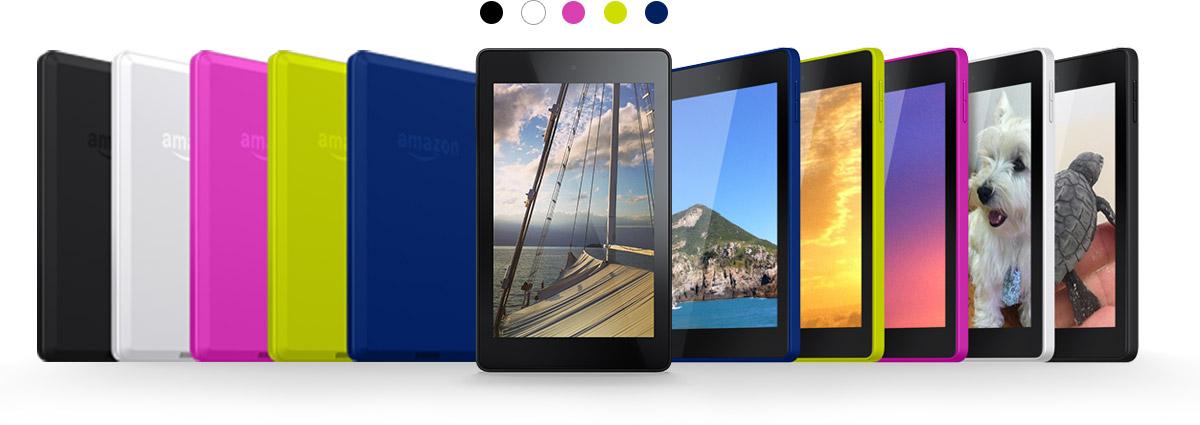 Kindle Fire HD6 HD7 Spezifikationen Funktionen der neuen 1200x425