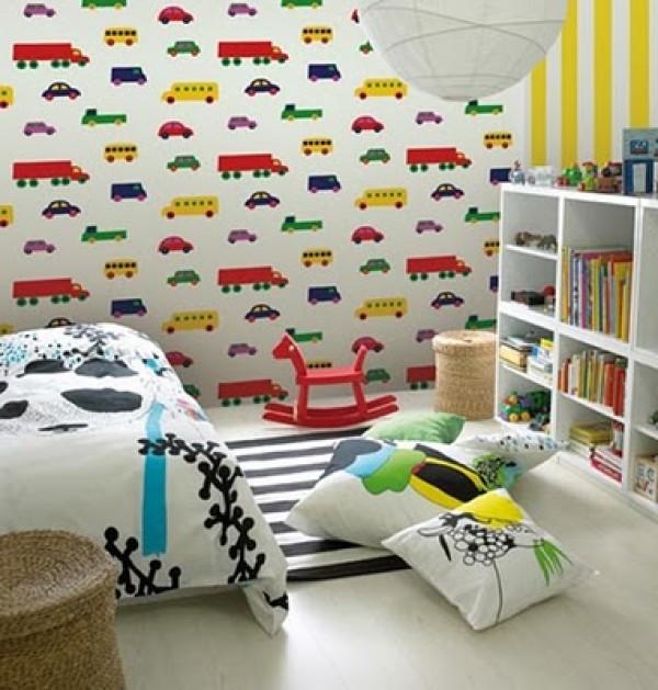 Fantastic Kids Bedroom Wallpaper Home Interior Design Ideas 600x629