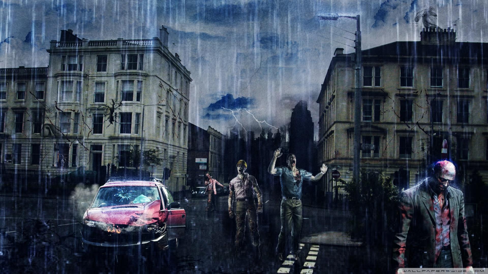Zombie Apocalypse Wallpaper - WallpaperSafari