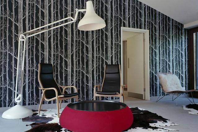 Wallpaper Feature Wall Ideas   Bedroom Living Room Walls 639x426