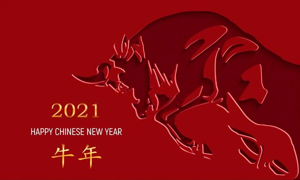Chinese New Year 2021 Images and Wallpaper Chinese new year card 1003x602