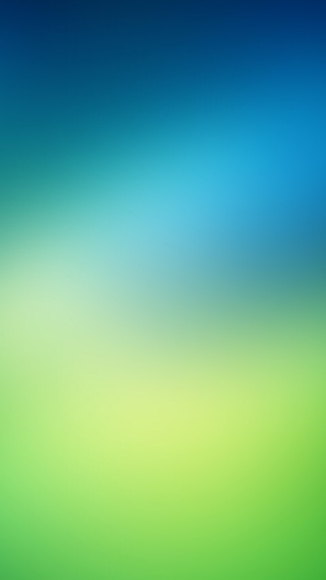 Green Background iOS 7 Wallpaper 640x1136