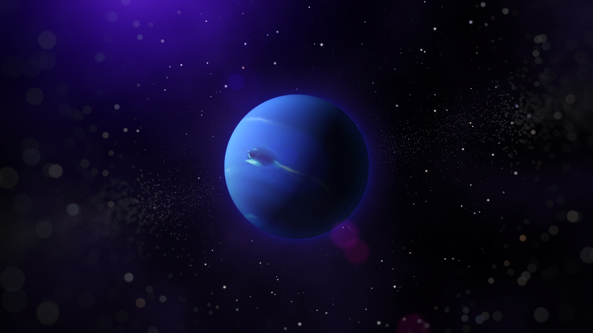 2 HD Neptune Planet Wallpapers 1920x1080