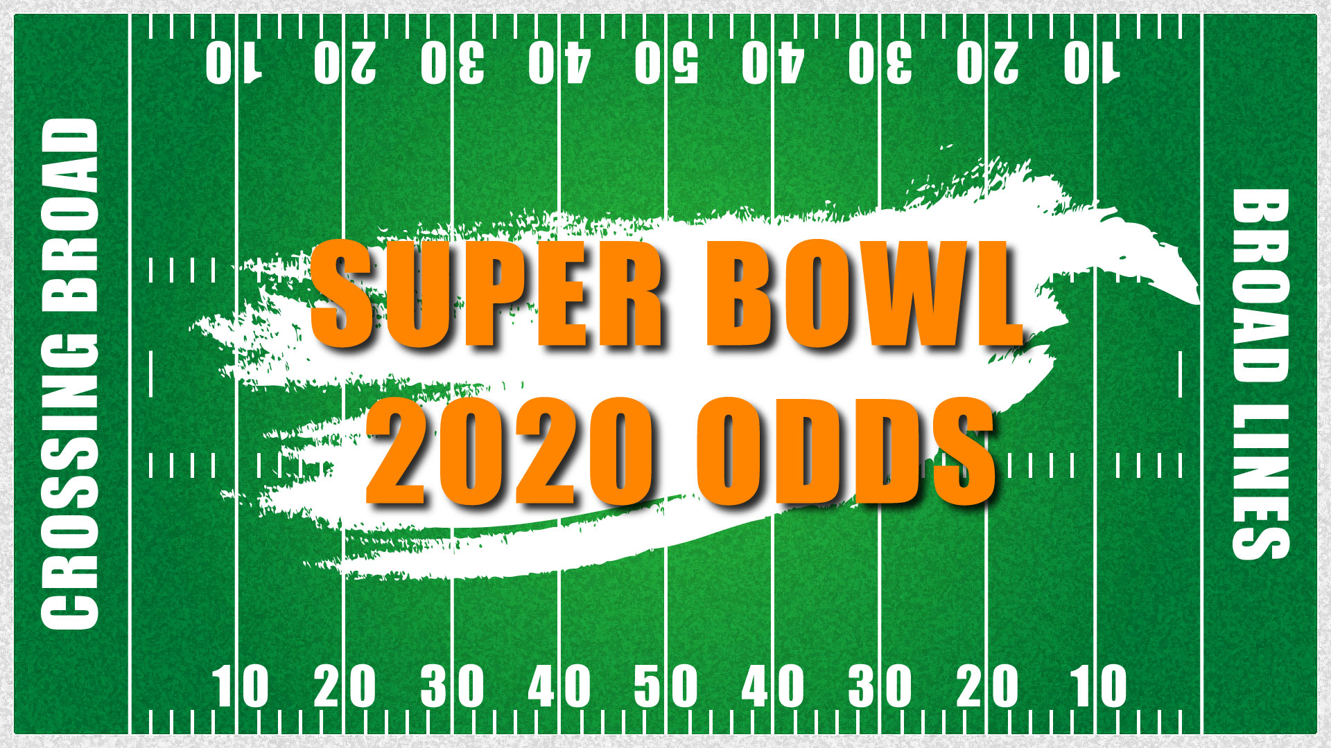 Super Bowl 2020 Clip Art 1920x1080