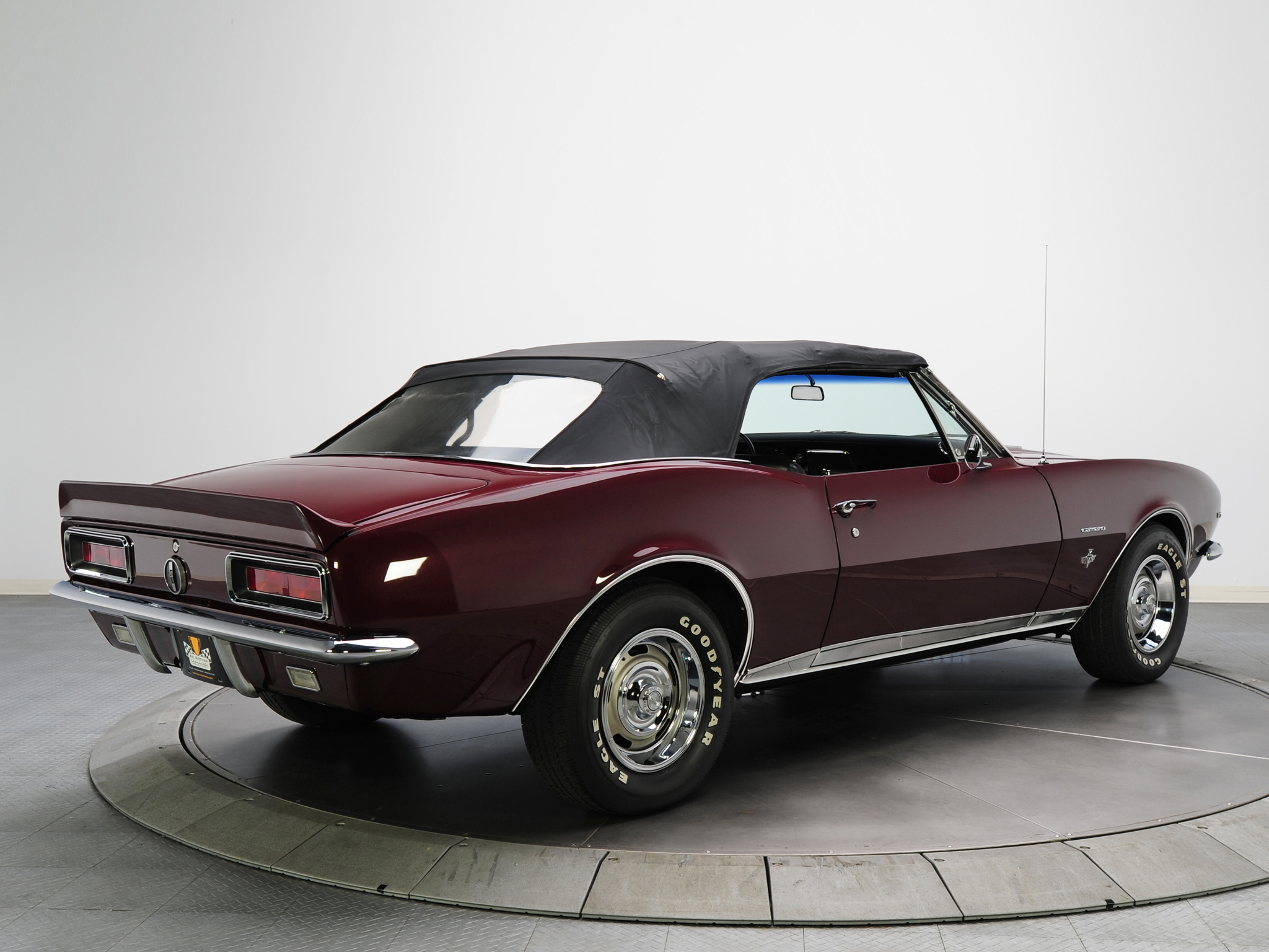 Chevrolet Wallpapers Chevrolet Camaro RS Convertible 1967 2048x1536