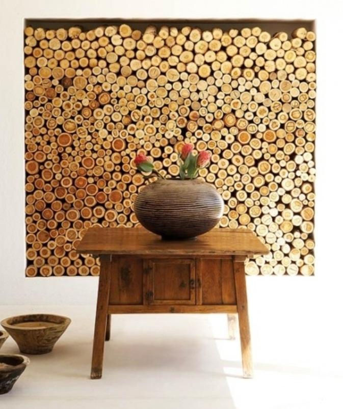 Ideas Wall Decor Design with Wood Wallpaper   nijihomedesign 673x803