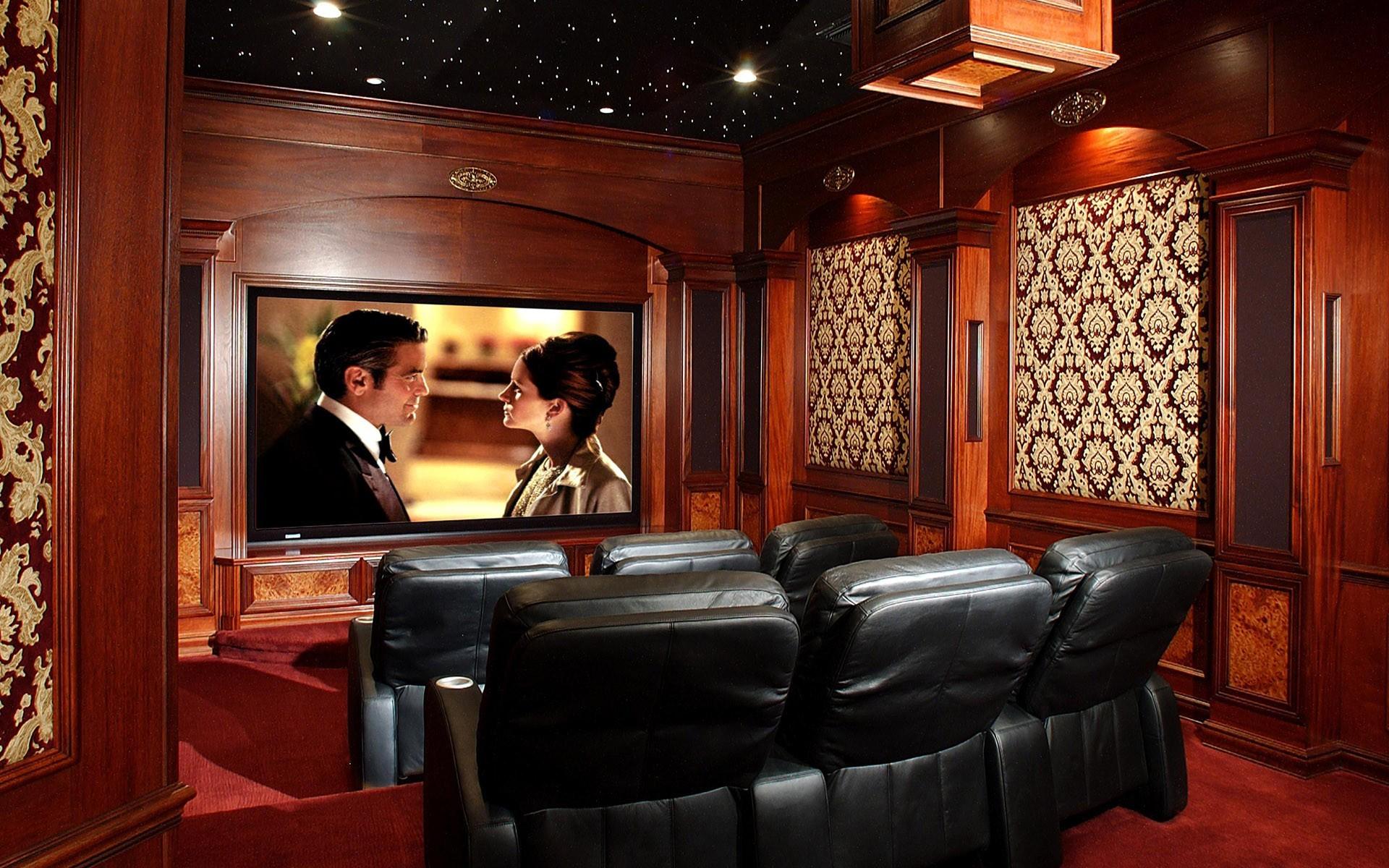 Movie theater wallpaper wallpapersafari for Wallpaper home film
