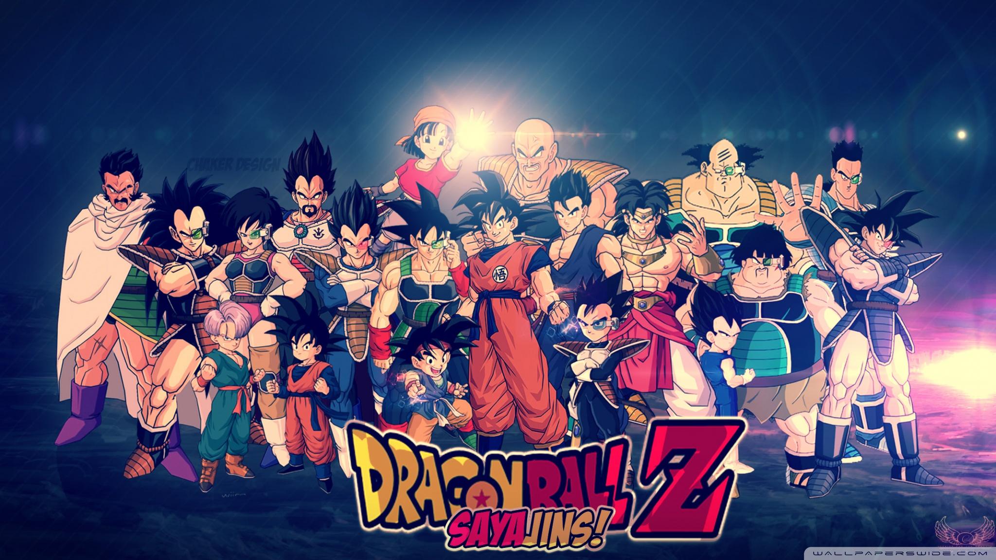 HD Dragon Ball Z Desktop Wallpapers Download 2048x1152