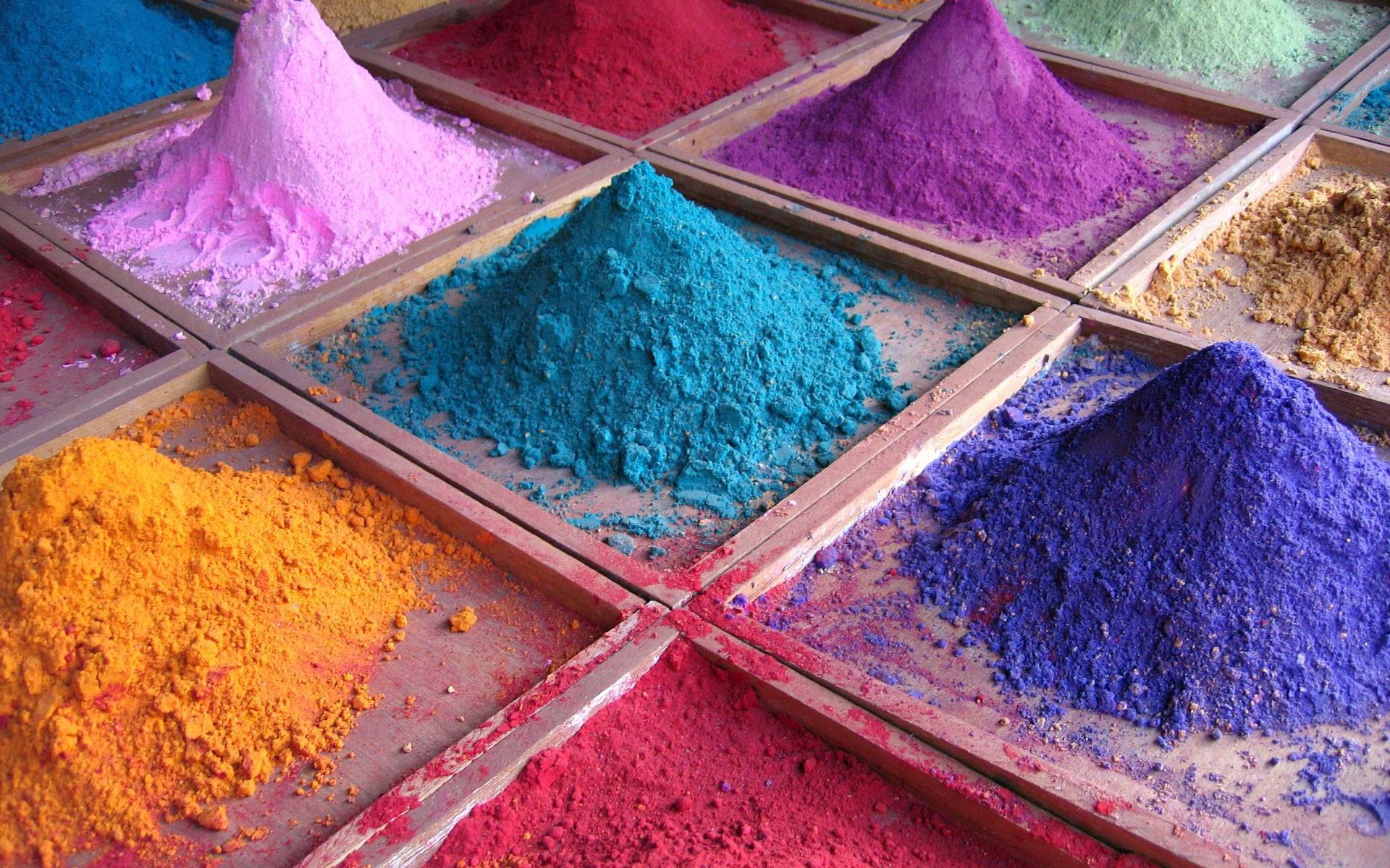 Colorful powder wallpaper 19386 1920x1200