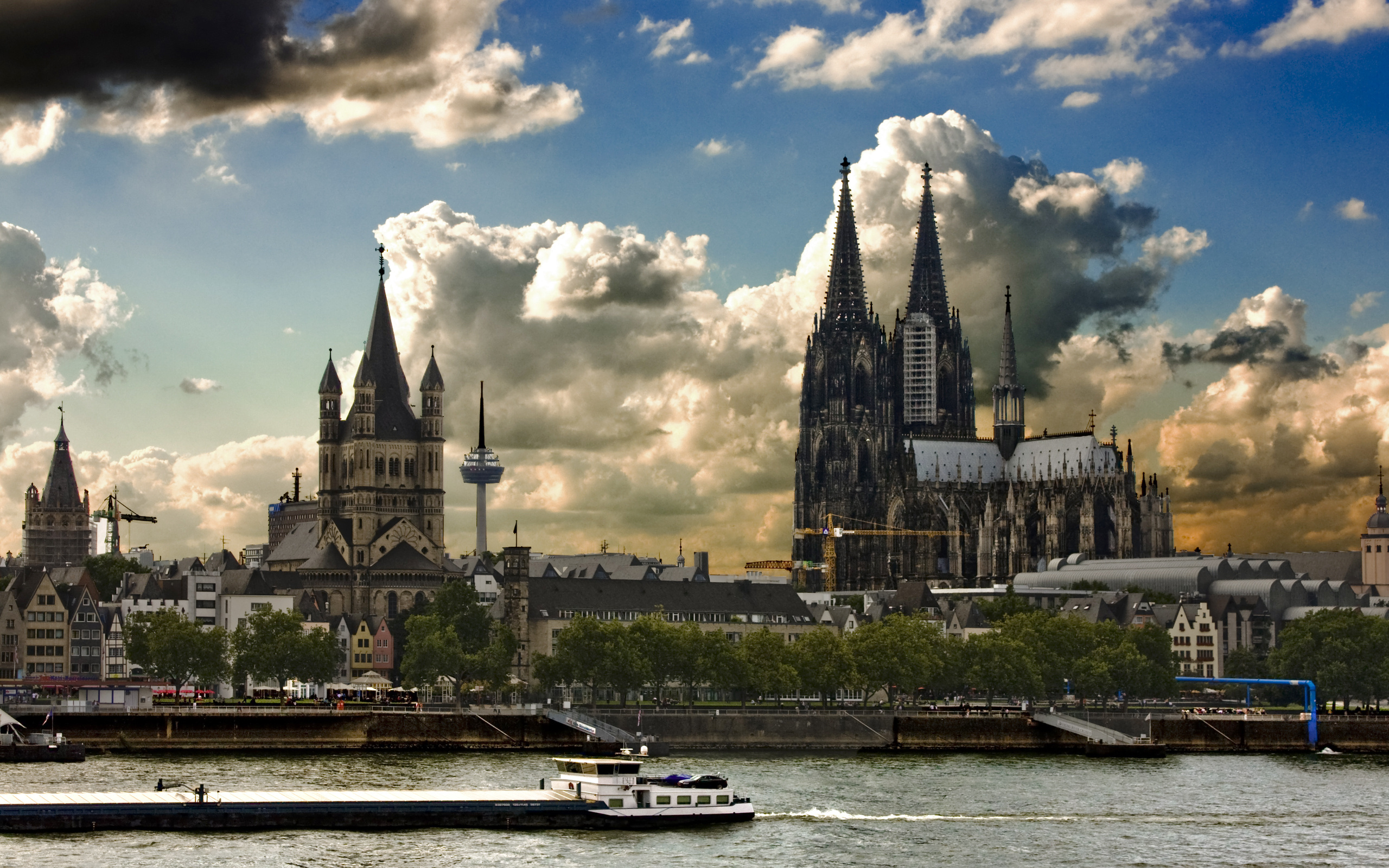 Cathedral Cologne Germany HD Wallpaper Background Image 2560x1600