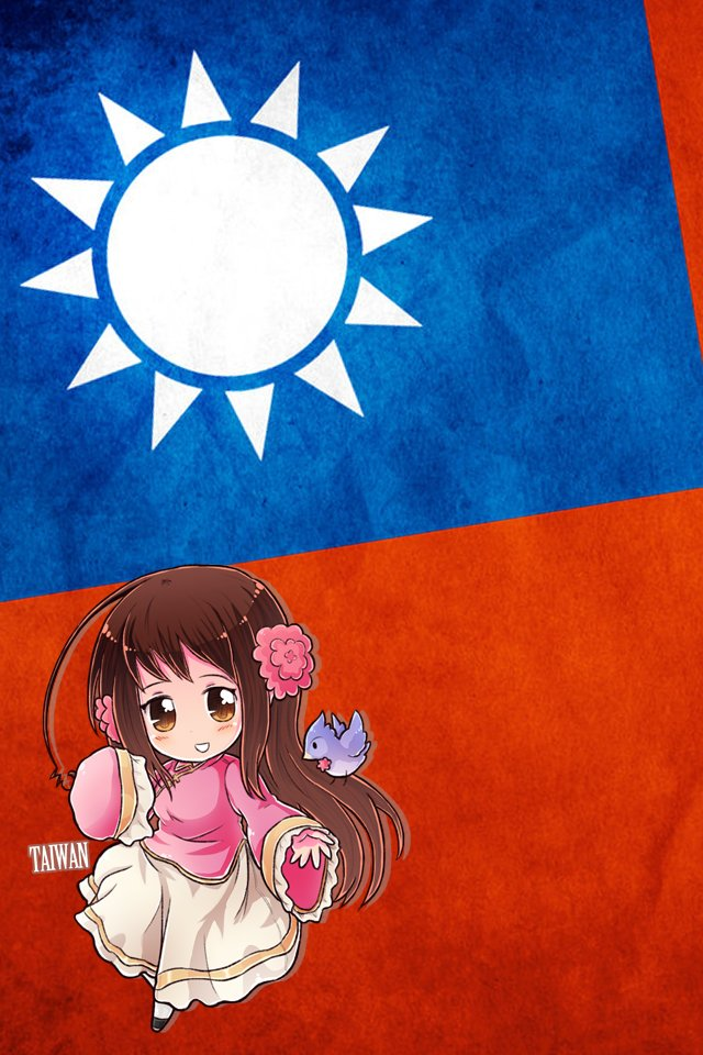 Hetalia iWallpapers   Taiwan by Dreamweaver38 640x960