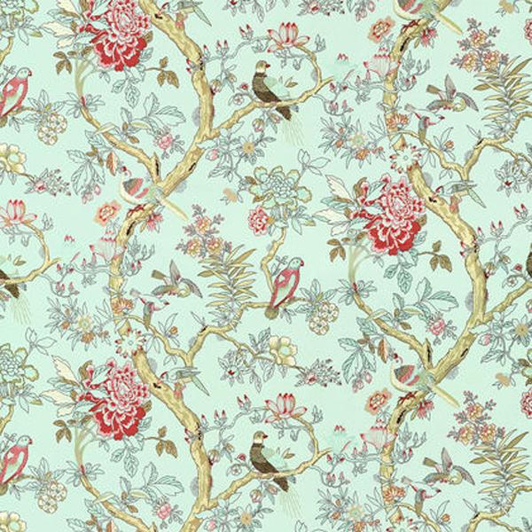 Home Brands Thibaut 125th Anniversary Fabrics Thibaut Papagayo 600x600